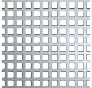 Neliöreikälevy Musta teräs 1.0x1000x2000mm C5 U7.5 44%