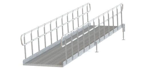 Invaramppi Kuumasinkitty 900x2000mm RST kaide molemmin puolin